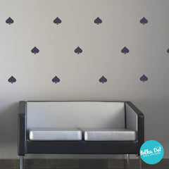 Spade Wall Decals