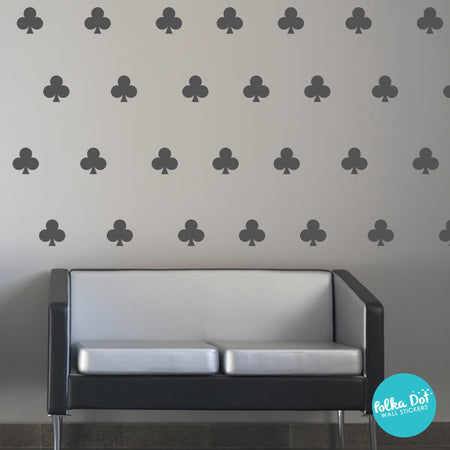 Card Club Wall Decals by Polka Dot Wall Stickers
