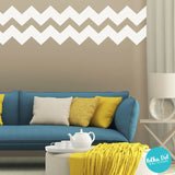 Short Chevron Wall Decals by Polka Dot Wall Stickers
