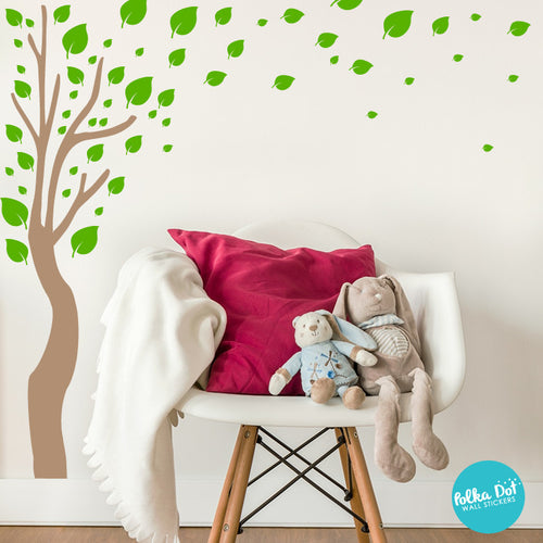 Long Tree Wall Decals