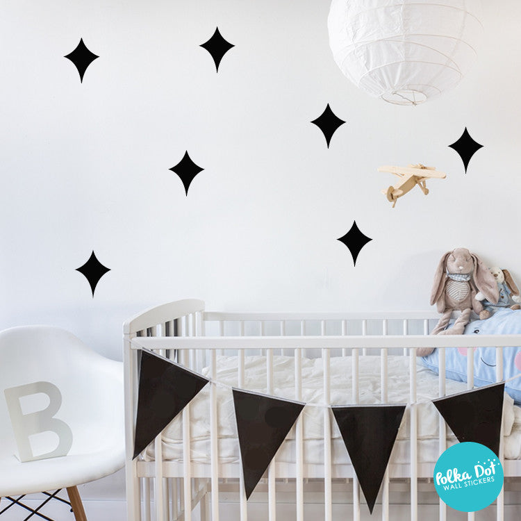 Galaxy Star Wall Decals for Nurseries