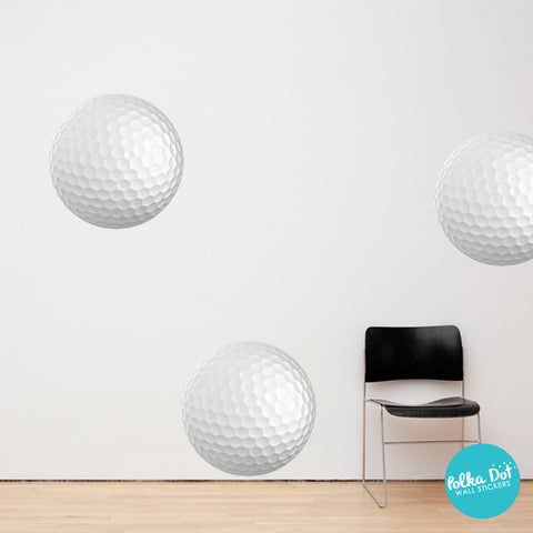 Golf Ball Wall Decals by Polka Dot Wall Stickers