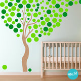 Long Tree Wall Stickers