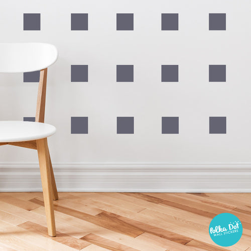 Square wall stickers