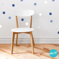 Shades of Facebook Polka Dot Wall Stickers