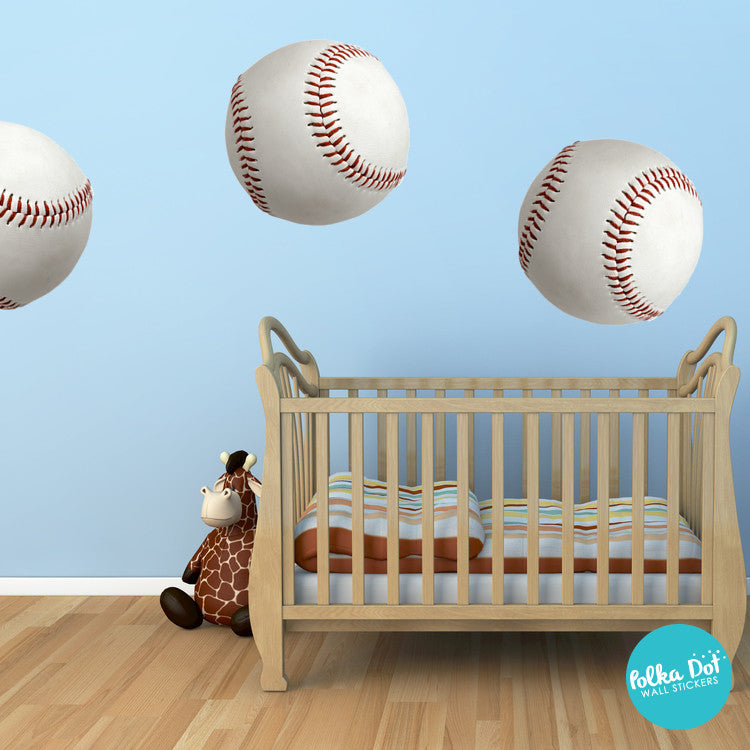 Baseball Wall Decals by Polka Dot Wall Stickers