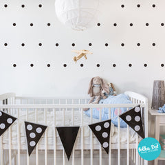 1 inch Polka Dot Wall Decals by Polka Dot Wall Stickers