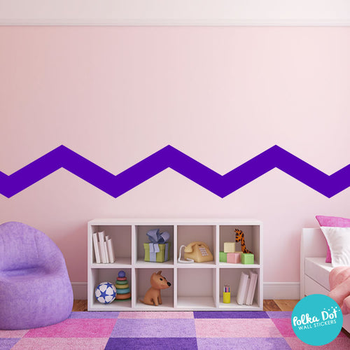... Wide Chevron Wall Decals
