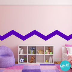Wide Chevron Wall Decals