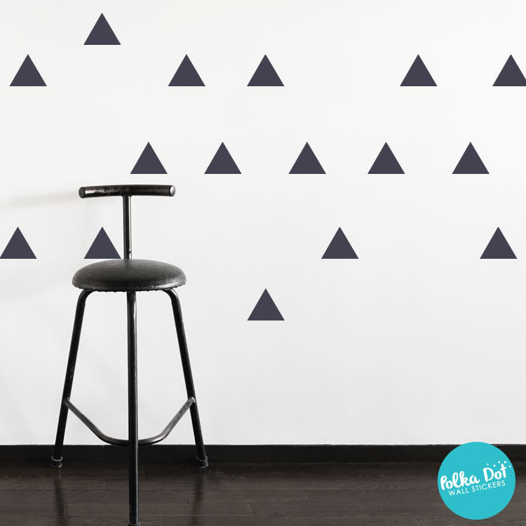 Triangle Wall Decals by Polka Dot Wall Stickers