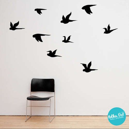 Flying Birds Wall Decal