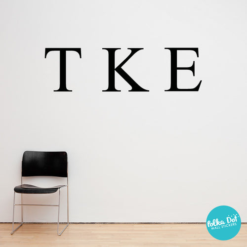 letter wall decals letter wall decals sorority and fraternity 17245