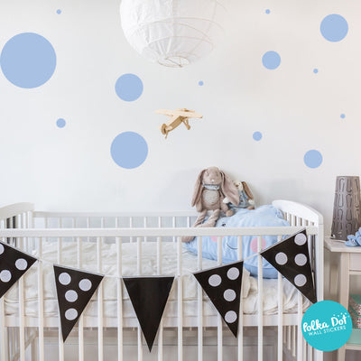 36 Dots - Assorted Size Polka Dots