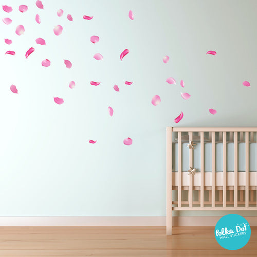 Cherry Blossom Petal Wall Decals Part 62