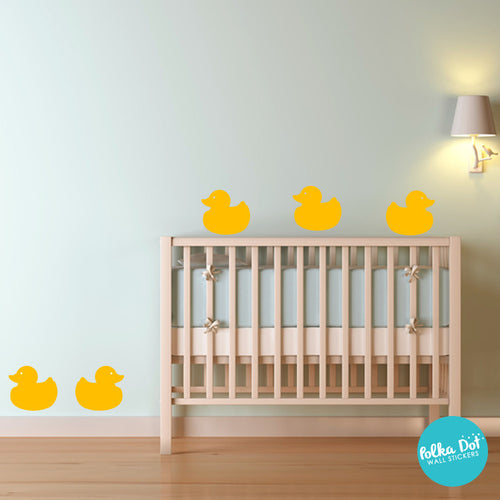 Rubber Ducky Wall Decals by Polka Dot Wall Stickers