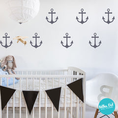 Sailor's Anchor Wall Decals by Polka Dot Wall Stickers