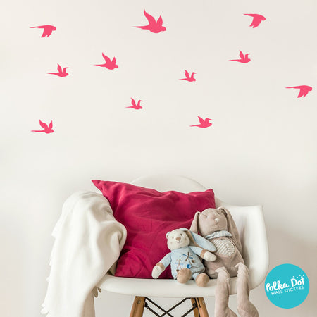 Small Flying Bird Wall Decals