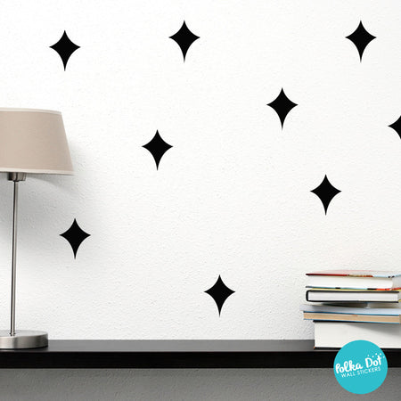 Galaxy Star Wall Decals by Polka Dot Wall Stickers