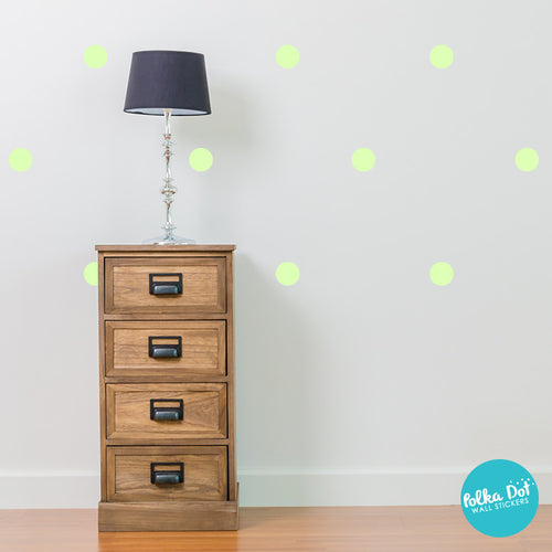 Key Lime Pie Polka Dot Wall Decals by Polka Dot Wall Stickers