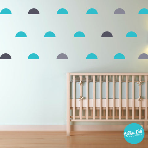 Half Circle Wall Decals