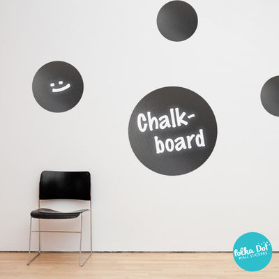 Chalkboard Polka Dot Wall Decals by Polka Dot Wall Stickers