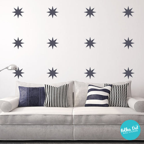 ... 8 Point Star Wall Decals