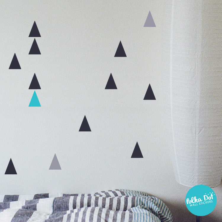 Trendy Triangle Wall Decals