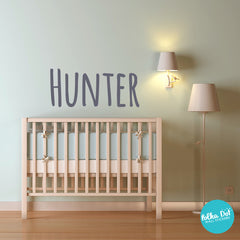 Silly Print Custom Name or Word Wall Decals