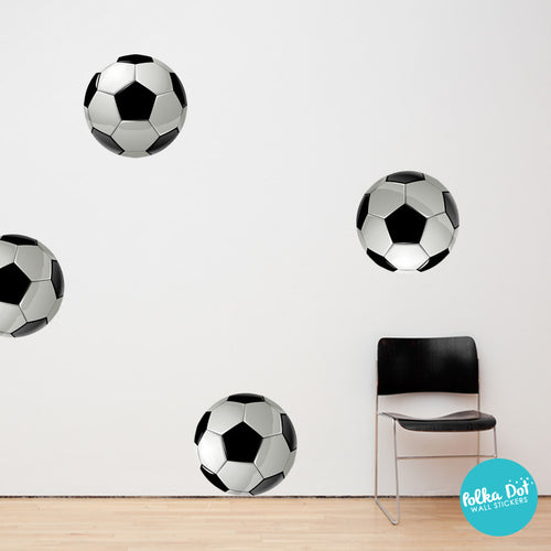 Soccer Ball Wall Decals by Polka Dot Wall Stickers