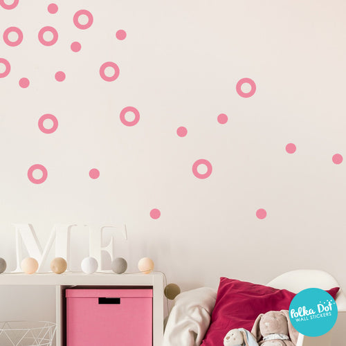 Dots and Rings Wall Decals