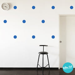 Gentian Polka Dot Wall Decals
