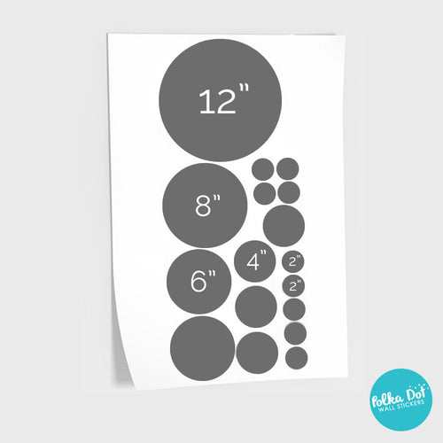 17 Dots - Assorted Size Polka Dots
