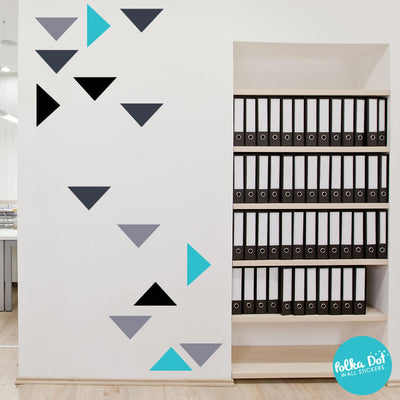 Wide Triangle Wall Decals by Polka Dot Wall Stickers