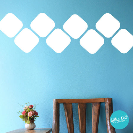 Round Square Wall Decals