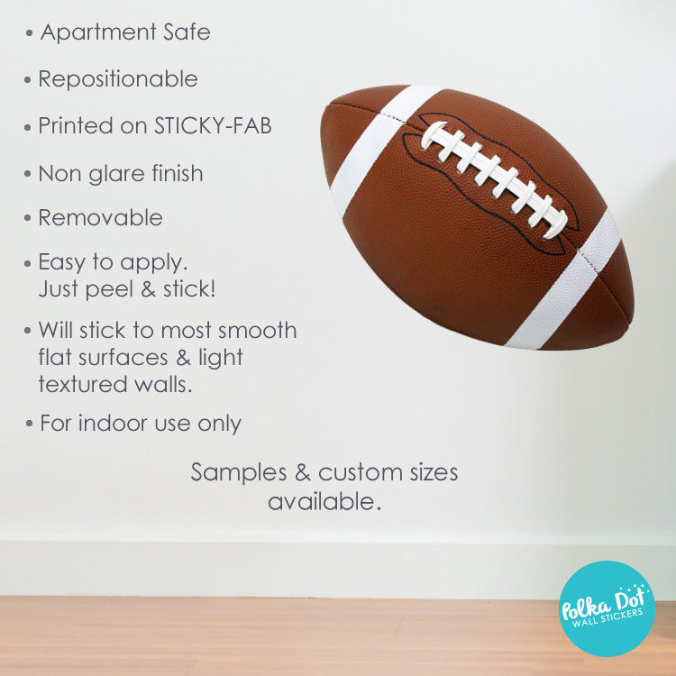 Football Wall Decals