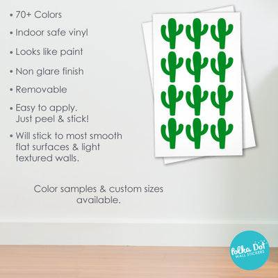 Cactus Wall Decals by Polka Dot Wall Stickers