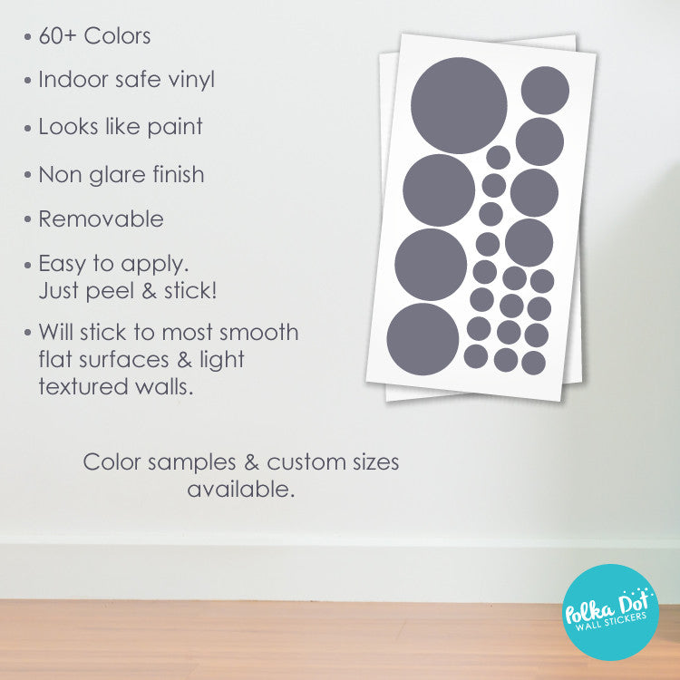23 Dots - Assorted Size Polka Dots