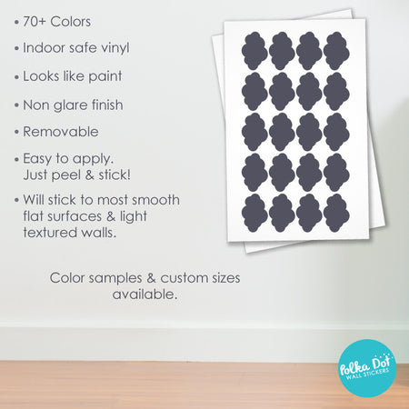 Cloud Wall Decals by Polka Dot Wall Stickers