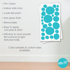 Hand Drawn Polka Dot Wall Decals