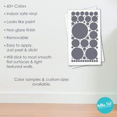 65 Dots - Assorted Size Polka Dots