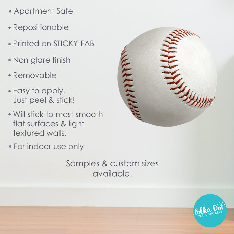 Baseball Wall Decals