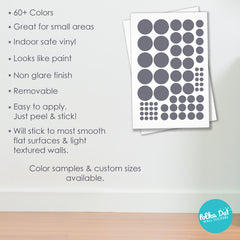 68 Dots - Mini Max Assorted Size Polka Dots