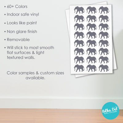 Elephant Wall Decals by Polka Dot Wall Stickers
