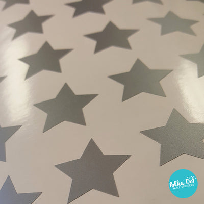 Mini Pack - One Inch Vinyl Star Stickers
