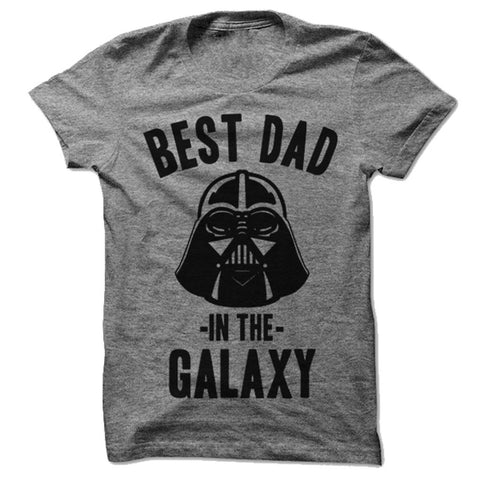 Best Dad in the Galaxy Tee - Darth Vader - Person Like