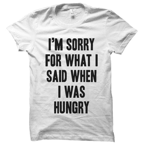 I'm Sorry for What I Said When I Was Hungry - Person Like