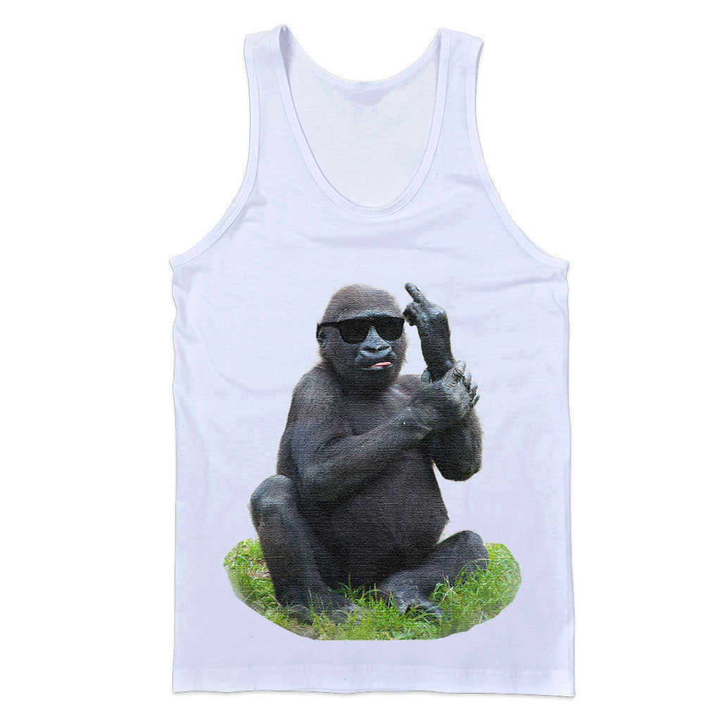 Monkey Middle Finger Tank - Person Like