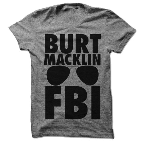 Burt Macklin Fbi Tee (andy Dwyer) - Person Like - 1