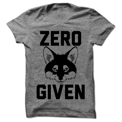Zero Fox Given - Person Like