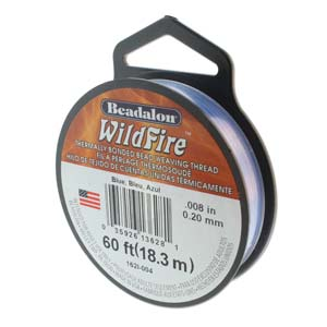 Wildfire Blue 0.008 Inch Spool ~ 20 Yard